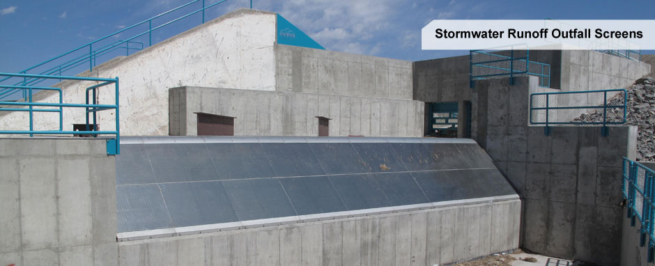 Hydroscreen - Stormwater Outfall Screens